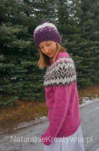 islandzki sweter otylia bebenek naturalnie kreatywna icelandic sweater 1