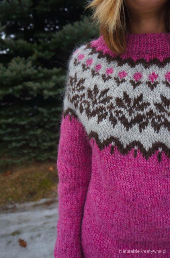 islandzki sweter otylia bebenek naturalnie kreatywna icelandic sweater 3